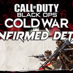 Black ops Cold War confirmed Details.